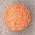 Closeup of a beta blocker pill in fabric