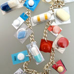 A necklace of pills